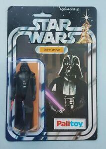 Stat Wars 12 Back A Palitoy Darth Vader Vintage Figure Toy Kenner 1977