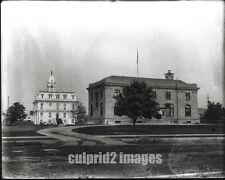1910 - OREGON PHOTO - Salem - Post Office & City Hall
