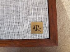 ACOUSTIC RESEARCH AR-4X , LATE PRODUCTION AR-4XA REPLACEMENT LOGO PLATES, PAIR