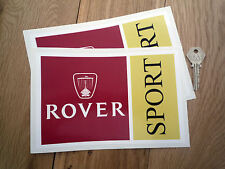 ROVER SPORT 8 in TOMCAT  SD1 P6 75 6R4 600 CAR STICKERS