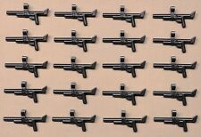 x20 NEW Lego ARMY GUNS War Weapons For Army Minifigs PERL DARK GRAY