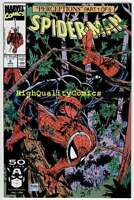 SPIDER-MAN #8, NM+, Todd McFarlane,1990, Wolverine, more SM and Marvel in store
