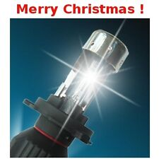 Christmas Gift Idea H4 Hi/Lo 6000K HID Bi-Xenon 2 Bulbs with Relay Harness Wire