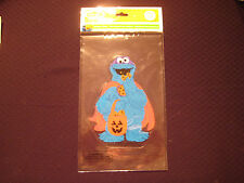 Sesame Street - Window Clings - Halloween Cookie Monster - Double Sided