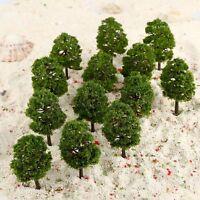 HO OO Scale 1:100 9cm Model Trees Layout Train Railway Landscape Wargame 20Pcs