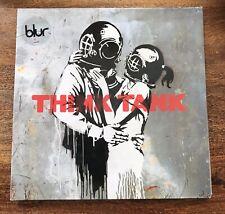 BLUR - THINK TANK 2003 VINYL LP new/unused original BANKSY ART