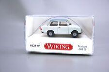 Wiking H0 1:87 Modellauto Trabant 601S de Luxe grau 0129 05 NOS NEU OVP