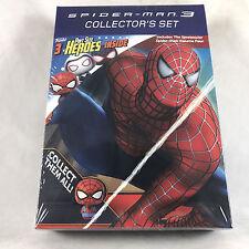Spider-Man 3 DVD Collectors Set Spectacular Vol 4 + Funko Pop! Pint-Size Heroes