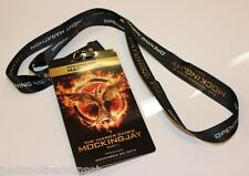 Hunger Games Catching Fire Lanyard Mockingjay Part 1 Movie Promo Opening Night