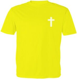 Jesus Christian Cross Symbol Unisex Kid Girl Boy Youth Graphics T-Shirt