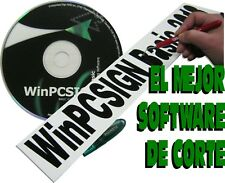 NUEVO software profesional WinPCSIGN Basic 2018. Driver, Fuentes, logos, Edicion
