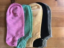 Women's Ankle cotton socks 5 Pairs