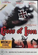 Cross Of Iron - Julius J. Epstein (DVD, 1977) Region 4 - Rare