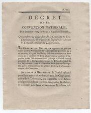 1792 DECRET MUNICIPALITE FERE CHAMPENOISE MARNE 2