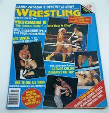 Wrestling Confidential Magazine, vol 1 no.3- Hulk Hogan wrestlmania III