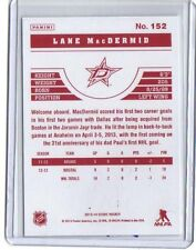 SSP 2013-14 Score Red Back #152 Lane MacDermid