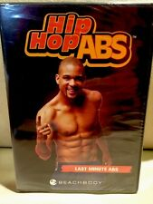 Shaun T Hip Hop ABS: LAST MINUTE ABS 5 MINUTE WORKOUT (DVD) Beach Body NEW