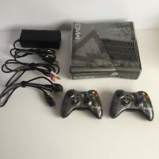 Rare Xbox 360 MW3 Limited Edition Console with 2 Matching Controllers + Leads