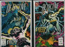 BATMAN DETECTIVE COMICS #644 #645 Electric City  (DC 1992) UNUSED C3.18