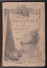 Forêts CHASSE PECHE Catalogue Exposition Internationale BruxellesTervueren 1897