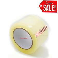 2 Inch 6 Rolls 55 Yards Clear Carton Sealing Packing Tape Box Moving Shipping