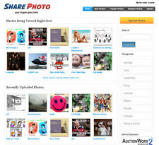 Photo Sharing Website - Adsense ready