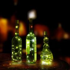 3 x 30inch Cork Shaped LED Night Light Starry Light Wine Bottle Lamp for Party