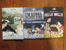 3-Kay Chandler Signed 2016 Softback Books(Unforgettable/Hello Walls/I'M Gonna.