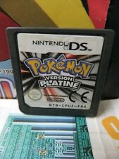 Nintendo DS:Pokémon Version Platine [TOP RPG & 1ERE EDITION] Fr
