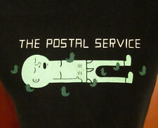 POSTAL SERVICE juniors med T shirt Death Cab Cutie tee Jimmy Tamborello indie