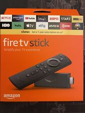 New And Sealed Fire TV Stick with Alexa Voice Remote free shipping