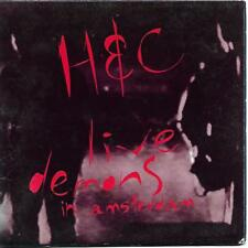 Hunters & Collectors Live Demons In Amsterdam CD card sleeve