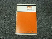 Case 780 CK Loader Backhoe Owner Operator Maintenance Manual 9-4233 5500550-Up