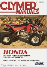 CLYMER Repair Service Manual Honda TRX 400EX 400X 1999-2003 M454-5