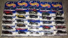 HOT WHEELS  FIRST EDITIONS 1998, 1999, 2000   **** YOU CHOOSE ***