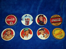 "1993 Collect-A-Card Coca-Cola ""Coke Cap"" Pogs Series 2 Set of 8"