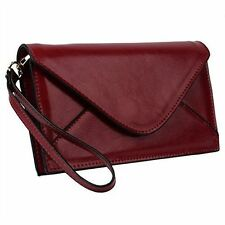Leather Envelope Purses & Wallets for Women with Strap