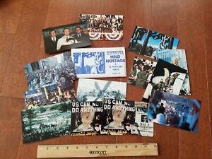 1981 American Held Hostage 12 Postcard Set Iran Prisoners by Coral-Lee