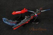 A620 GHJK Space Battleship Yamato Star Blazers Dessler CARRIER Figure Toy Model