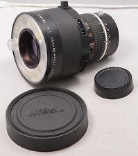 Nikon MACRO Medical-Nikkor 120mm f/4  w/o cords/power supply. Film and Digital.