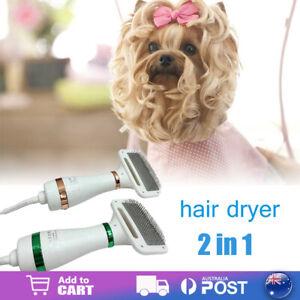 2-In-1 Portable Pet Hair Dryer Comb Brush Pet Grooming Cat Hair Comb Dog Dryer