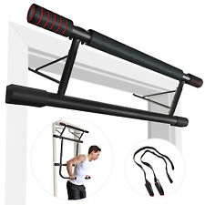 Doorway Pull Up Bar Chin Up Home Gym Exercise Workout Power Strength Trainer