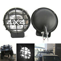"1X 5.5"" 4X4 Round Off Road White Driving Halogen ATV Fog Light Lamp Spotli Jf"