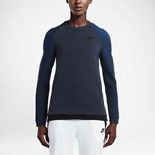 Nike Sportswear Tech Fleece Crew Sweatshirt/ Women's Size Medium/ Blue