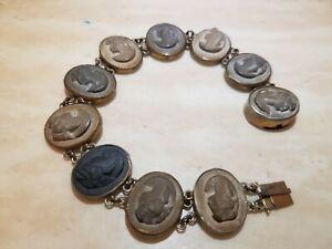 Antique Lava Cameo Bracelet*