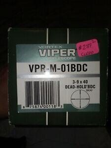Vortex Viper 3-9x40 Riflescope