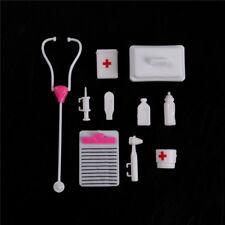 1Set Doll Accessory Pretend Medical Toy Nurse DoctorToolInstrumentsForBDAU