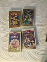 Disney VHS Lot Of 4 Tapes