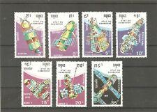 Kambodscha 1990 Cambodia 1177/83 Raumfahrt postfrisch