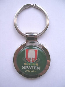 Spaten Beer Key Chain, Spaten German Beer Logo Keychain, Spaten Beer Key Chain